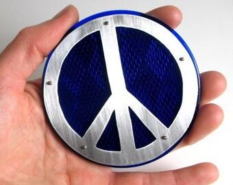 XL Peace Sign Bike Refelctor