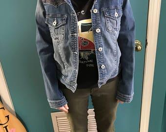 Up Cycled Vintage Denim Jacket