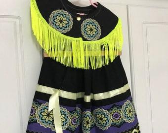 Ribbon Skirt and Bib