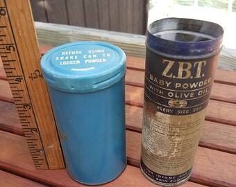 on sale Vintage Baby Powder Tins Zbt vintage advertising