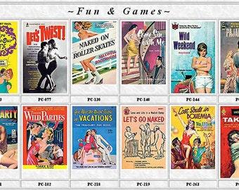 Pulp Fiction Postcards Set of 12 - FUN & GAMES