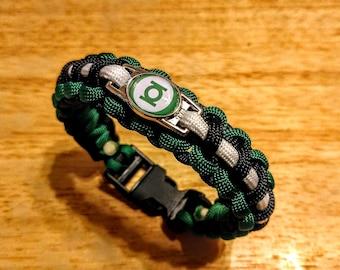 Green Lantern Inspired Paracord Bracelet