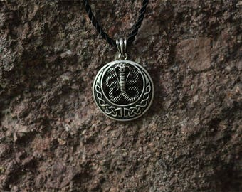 Celt Snake Totem Pendant Necklace