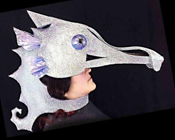 hippocampe costume masque adulte coiffe masque de mascarade. Black Bedroom Furniture Sets. Home Design Ideas