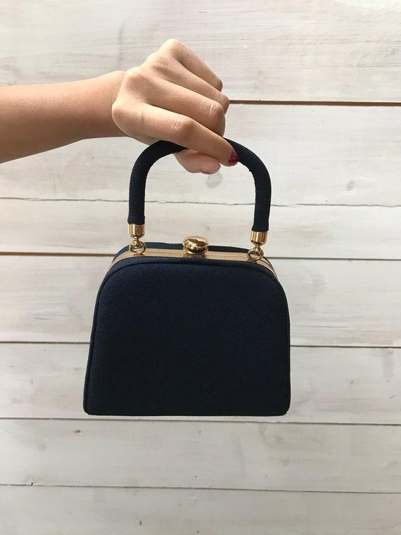 TOP HANDLED Evening Bag / Nicole Miller purse / small purse