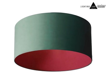 Bright Colored Lamp Shades   Pendant Drum Shade Lighting   Lamp Shades  Designs Color   Colorful