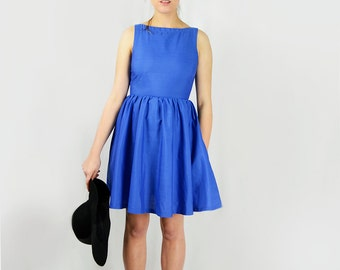 Royal Blues Dress