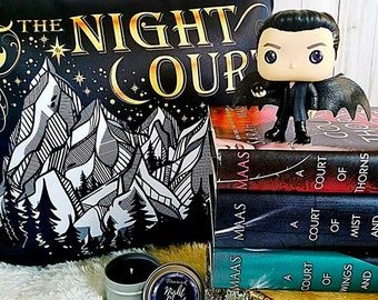 Night Court Pillow, ACOTAR, A Court of Thorns and Roses Pillow, Rhysand, Feysand, Court of Dreams, ACOMAF, Sarah J Maas, Bookish Pillow