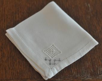 Handmade Vintage Napkins--Set of 9