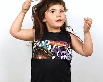 T-shirt Baby Kid Japanese Print-t-shirt child print Japanese girl