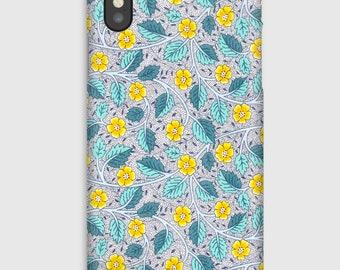Case for iPhone X 8, 8 +, 7, 7 +, 6s, 6, 6s +, 6, 5 c, 5, 5s 5SE, 4s, 4 Liberty Bramble Blossom V