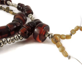 Tibetan Prayer Beads Mala Necklace 34 Inch 119576