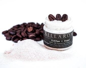 NEW! Coffee + Sugar LIP EXFOLIATOR