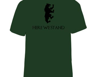 Game of Thrones House Mormont short sleeve top