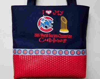 Chicago Cubs World Series Champions Purse