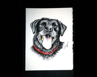 Black Lab note cards Set of 8