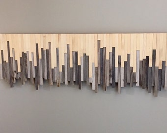 Wooden Wall Art - Rustic Meets Modern