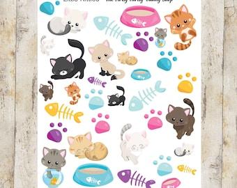 Little Kitty stickers