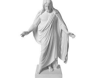 """Marble Statue Christus Statue 10"""" - S4"""
