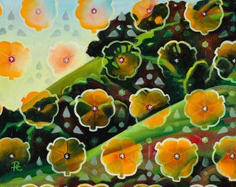 Spring Morning - giclee print on paper or canvas
