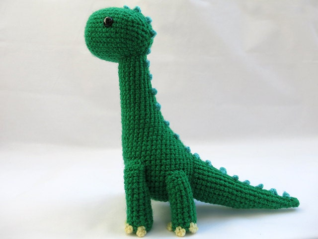 Crochet Pattern Pdf Amigurumi Brachiosaurus Dinosaur