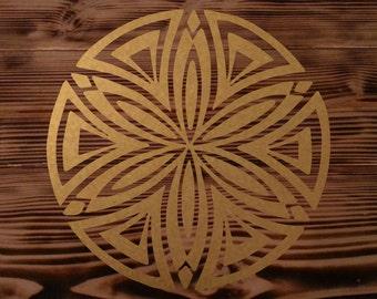 Grok Seed geometry die-cut decal sticker 3x3