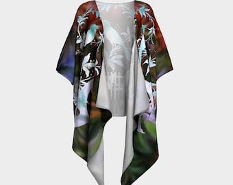 Songbird Robe Kimono in chiffon or knit