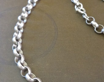 Sterling Silver 925 Belcher Chain Necklace