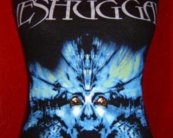 MESHUGGAH diy halter top  tank top rock metal girly band Nothing shirt  xs s m l xl