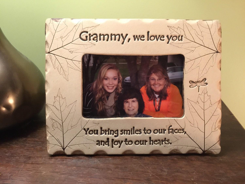 Grammy frame grammy we love you frame
