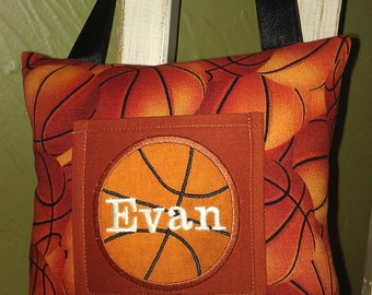 Basketball Tooth Fairy Pillow