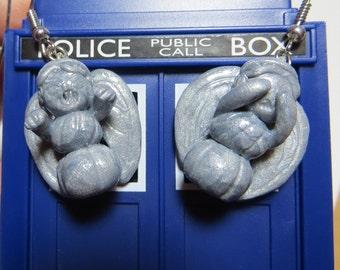 Doctor Who Weeping Angels Earrings