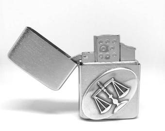 Lawyer Legal Scales Pocket Lighter