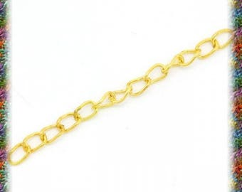 50 chain of Extension gold, 5 cm