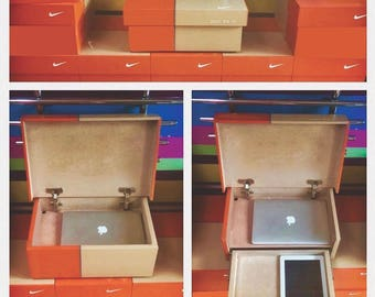 Nike shoe box Etsy