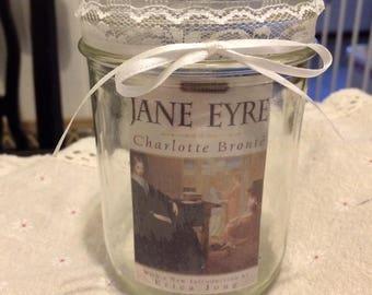 Jane Eyre Book Cover Lantern