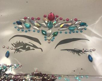 Sparkle Pony   Face + Body Jewels   Festivals   Coachella   Burning Man   Self Adhesive