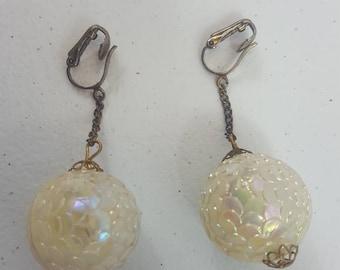Vintage Earrings (Clip on)
