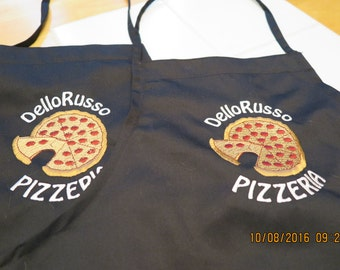 Two Aprons-Personalized Family Pizza aprons