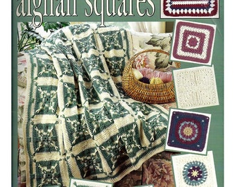 Contest Favorites afghan squares To Crochet   Leisure arts Book 2986