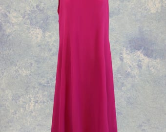 Bright Pink Fuchsia Mother of the Bride Formal Dress Prom Plus Size SAMPLE SALE!