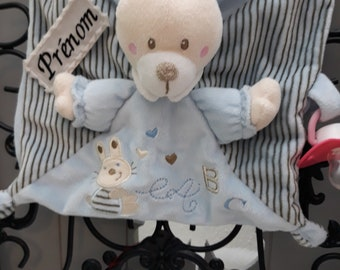 The toy to be personalized with baby's name
