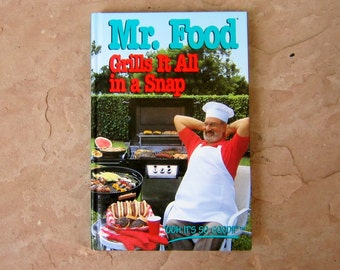 Mr food recipe book etsy mr food cook book mr food grills it all in a snap cookbook forumfinder Gallery