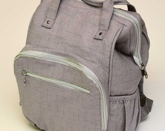 Backpack Diaper Bag - Made to order