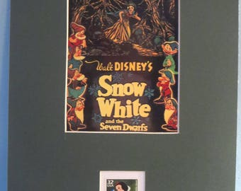 """Walt Disney's """"Snow White and the Seven Dwarfs"""" honored by its own  Stamp"""