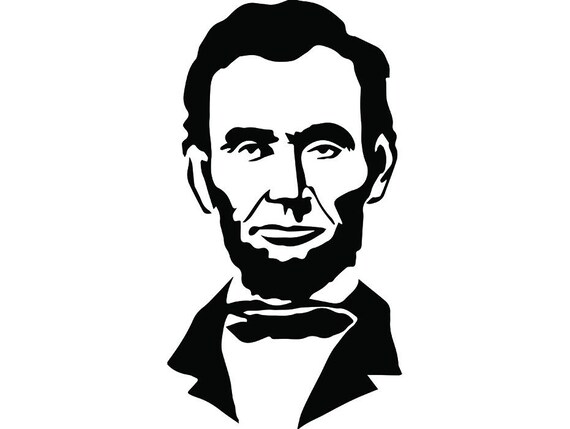 abraham lincoln 2 president famous american history statue school rh etsystudio com Abraham Lincoln Penny abraham lincoln face clipart