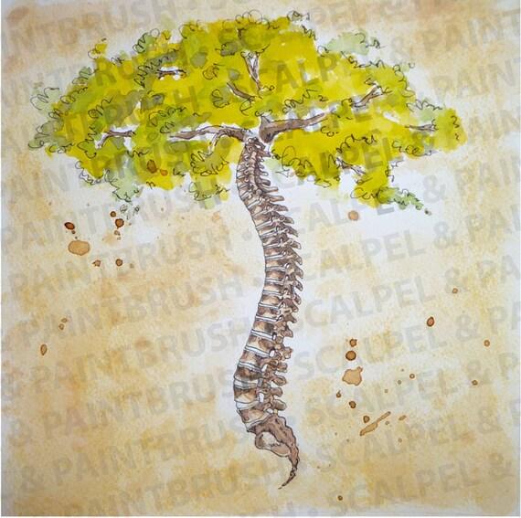 10 x 10 Arbor Vitae árbol de la vida la serie de