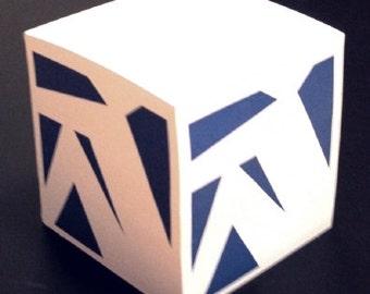 Profile Rower Memo Cube