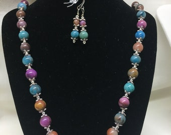 Necklace & Earrings - Color Fun