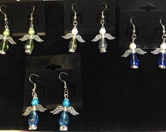 Angel Bead Pair Earrings